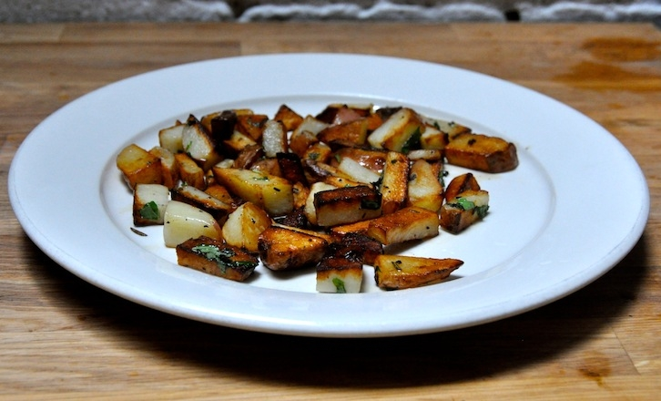 Roast Potato in Garlic Oil
